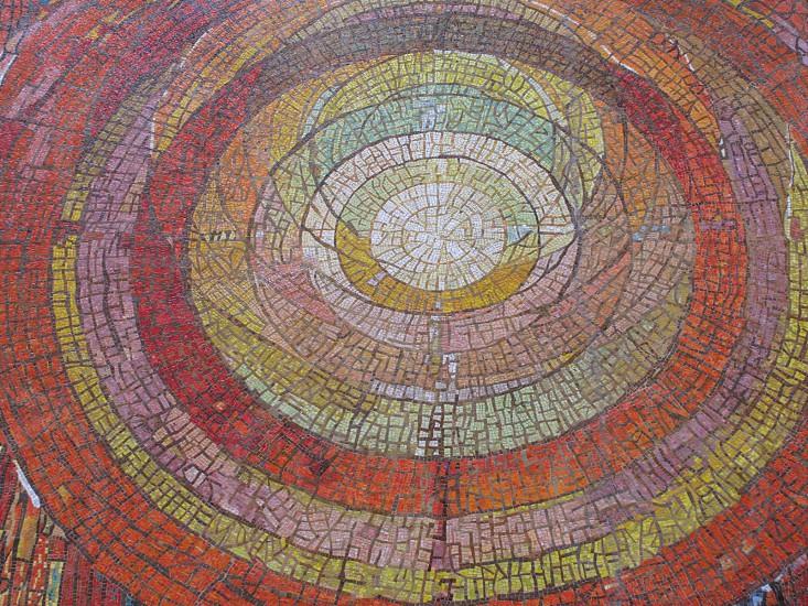 painting circles rings photo