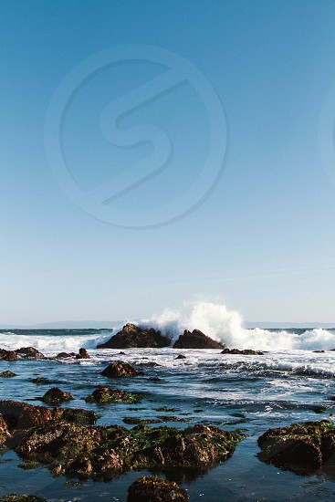 Monterey Bay California Beach Ocean photo