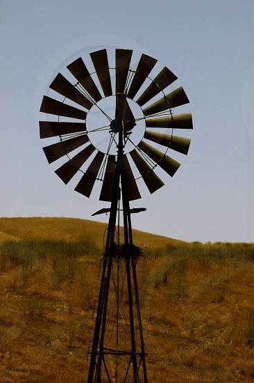 Windmill. Carizzo plain photo