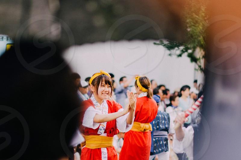 holiday people japan japanese photo