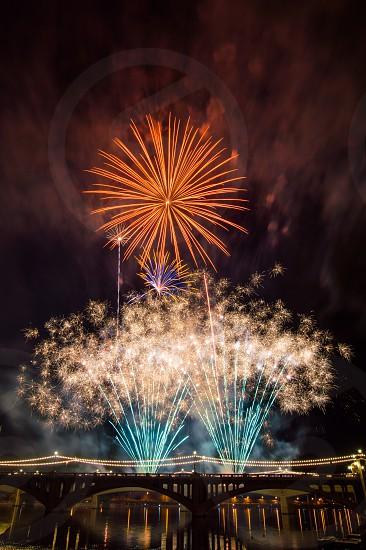 2014 Fireworks Tempe Town Lake photo