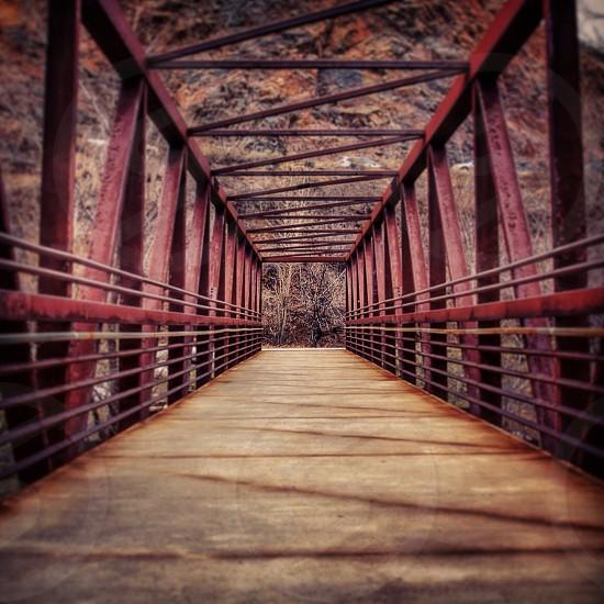 Bridge in Golden Colorado photo