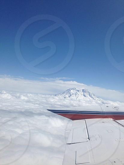 view of white mountain photo