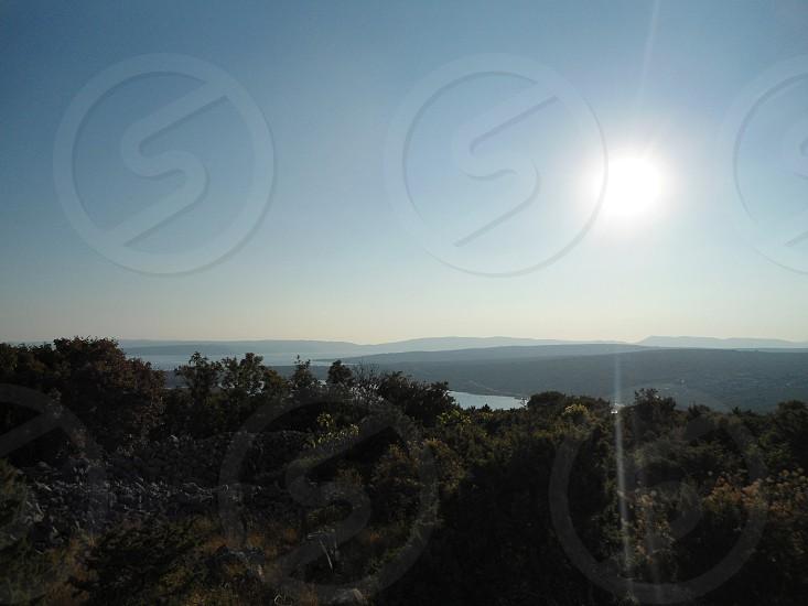 sun rise view photo