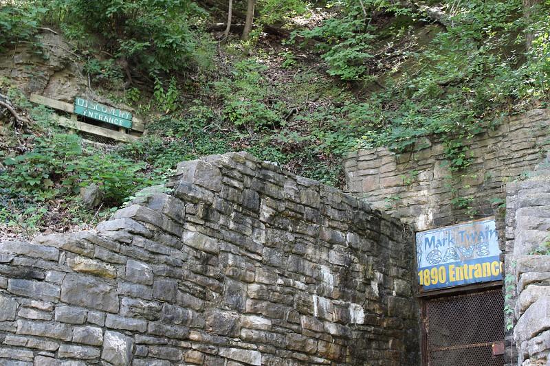 Mark Twain Cave in Hannibal Missouri photo