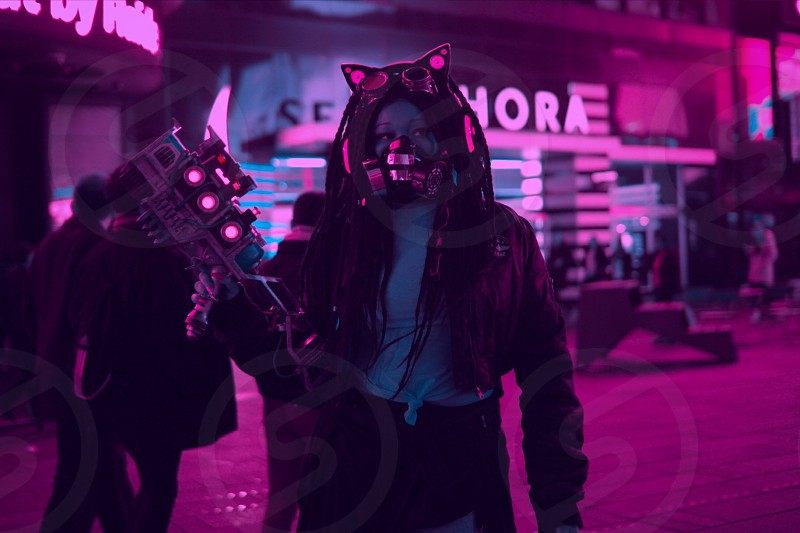CyberpunkNASAspacegirlcitycosplaysteampunk photo