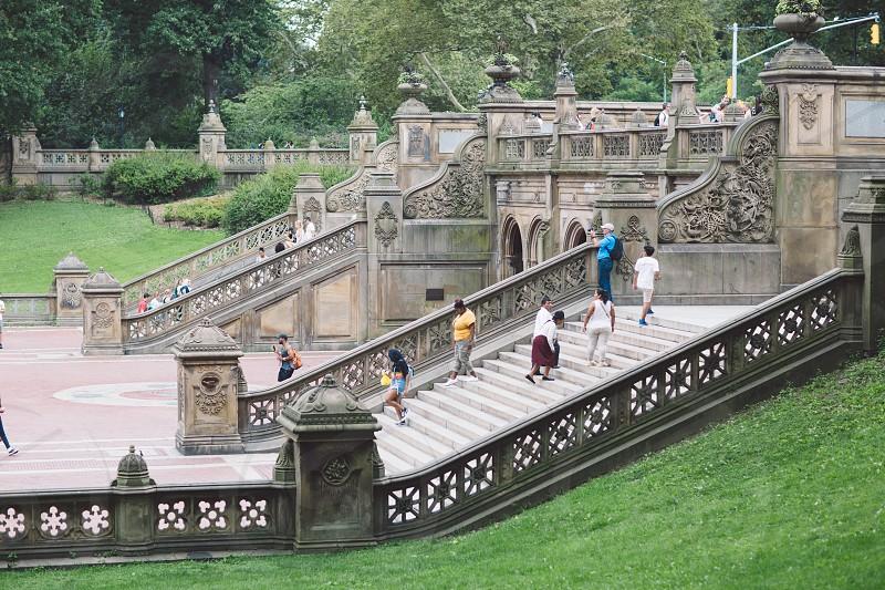 Bethesda terrace and fountain photo