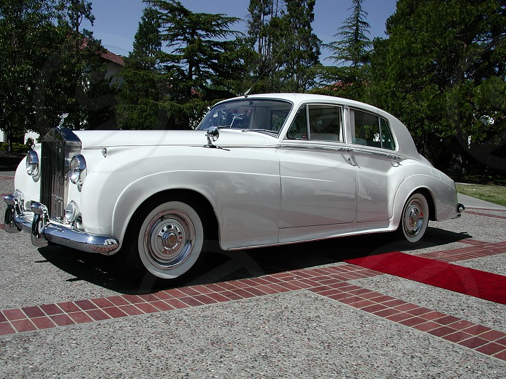 Rolls Royce White Rolls Royce Red Carpet photo
