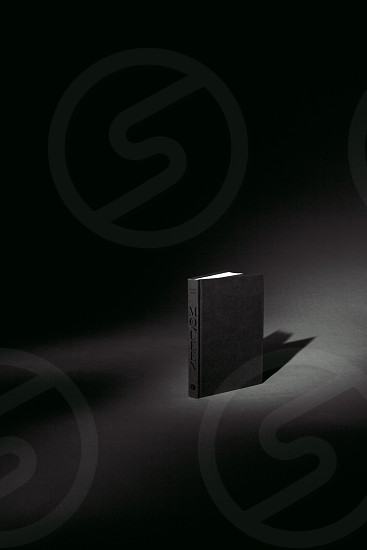 Dimly lit tome photo