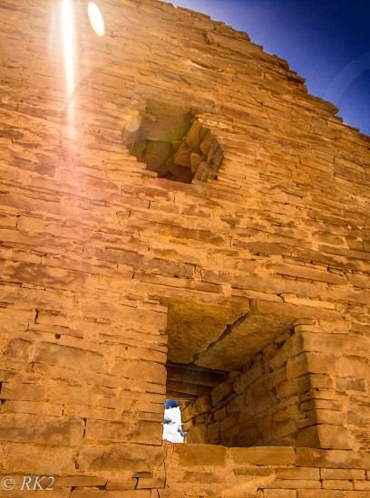 Chaco Canyon.  photo