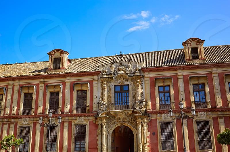 Seville Palacio Arzobispal of Sevilla Andalusia Spain photo