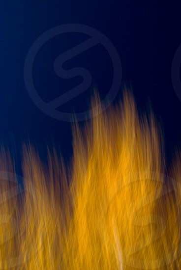 On Fire blur abstract image photo