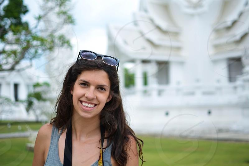 White Temple Chiang Rai Thailand photo