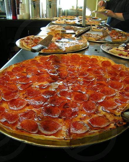 Pizza buffet photo