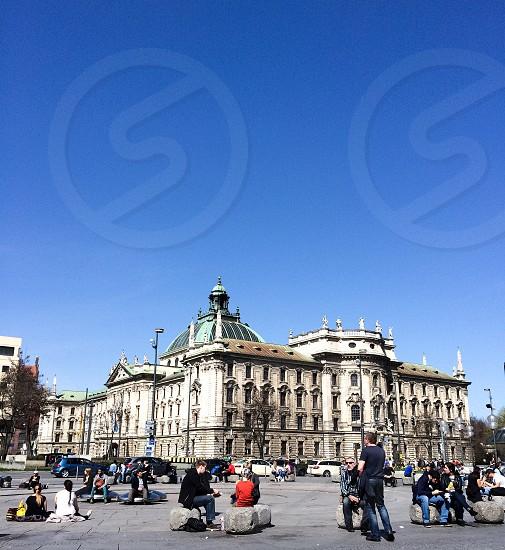 Munich platz  photo
