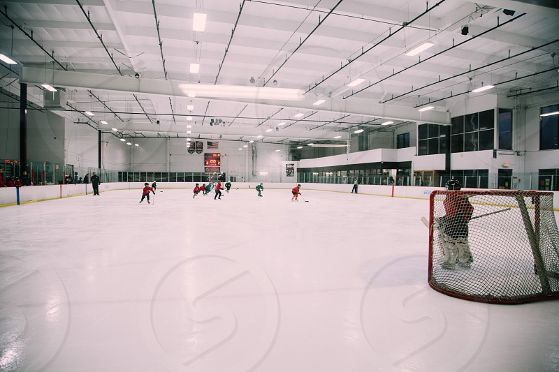 hockey rink interior photo