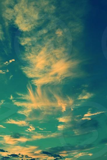 Texas Sky Clouds photo