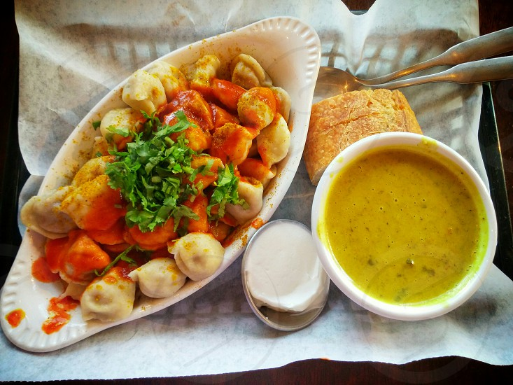 pel' meni is #delicious #russian #dumplings #veggie #curry #amazing photo