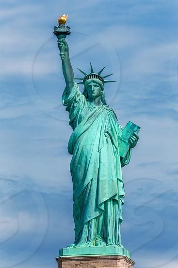 Statue of Liberty New York American Symbol USA US photo