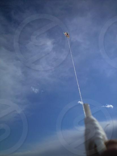 Kite-flying photo