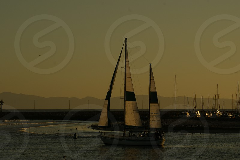 night view boat photo