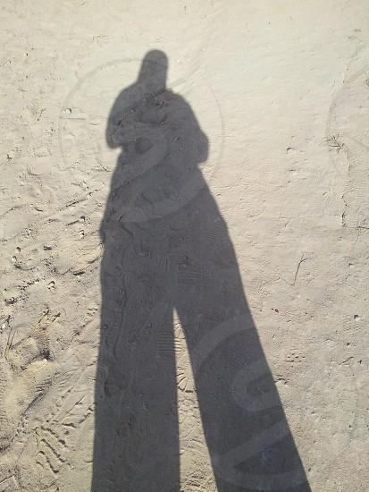 shadow...tall...earth photo