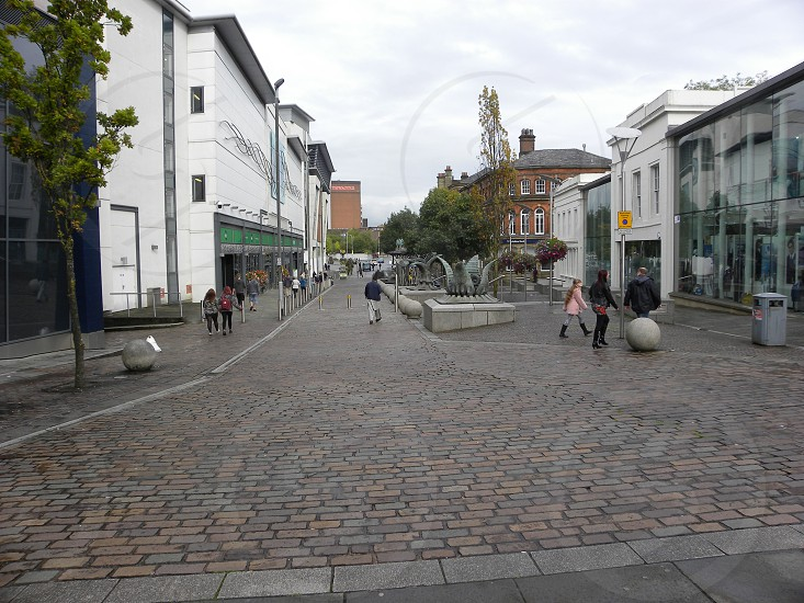UK. ENGLAND. BLACKBURN. Church Street.                                photo