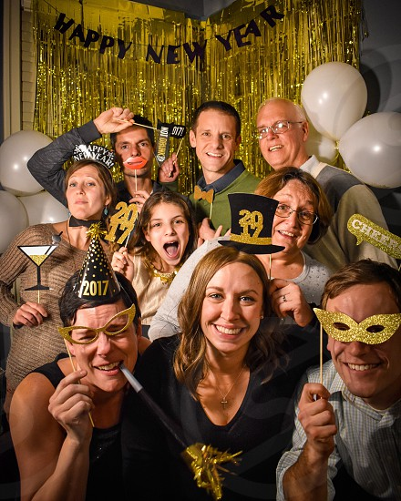 NYE photo booth 2017 photo