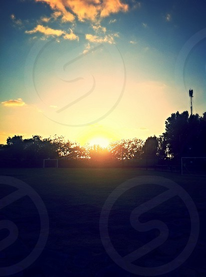 Sunset scenery DXB photo