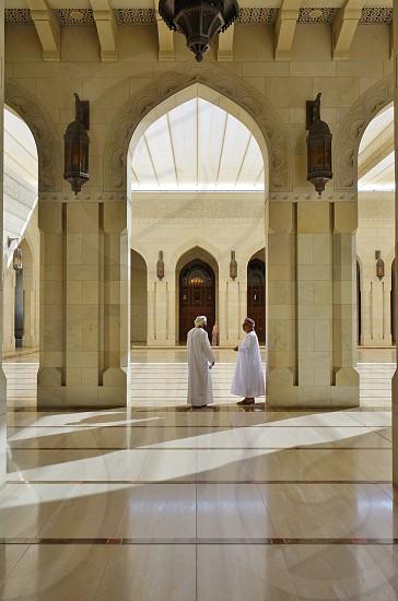 Sultan Qaboos Grand Mosque - Muscat Oman photo