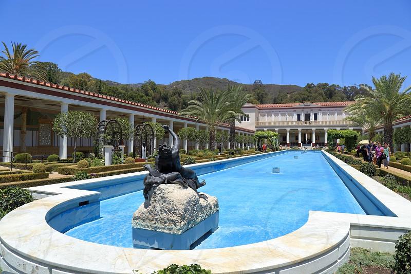 Getty Villa at Malibu California photo