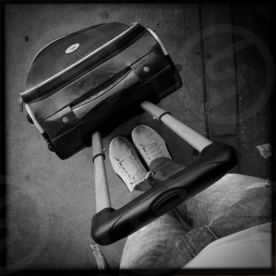 black trolley  photo