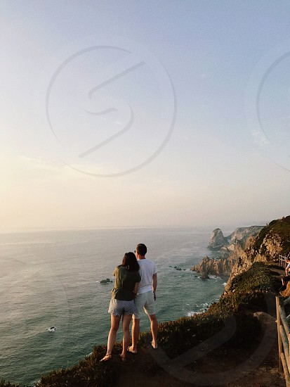 Portugal cabo da roca sunset photo