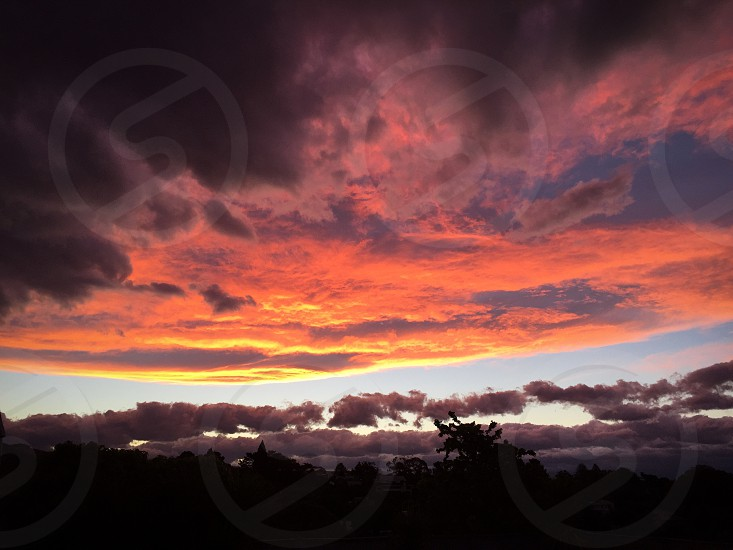 New Zealand sunset photo