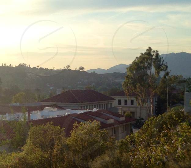 Occidental College campus +surrounding landscape  photo