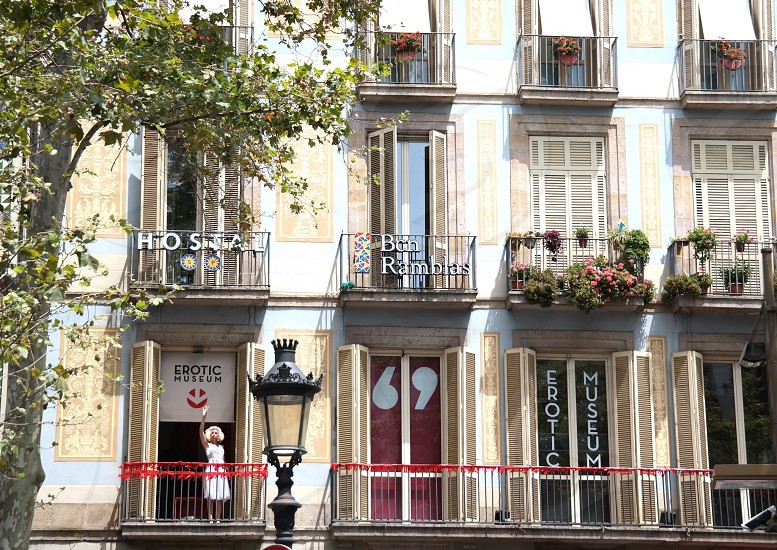 Spain RamblasEurope streets hotel Erotic Museum  photo