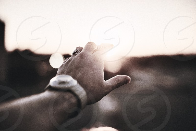 Moody hands jewelry watch ring photo