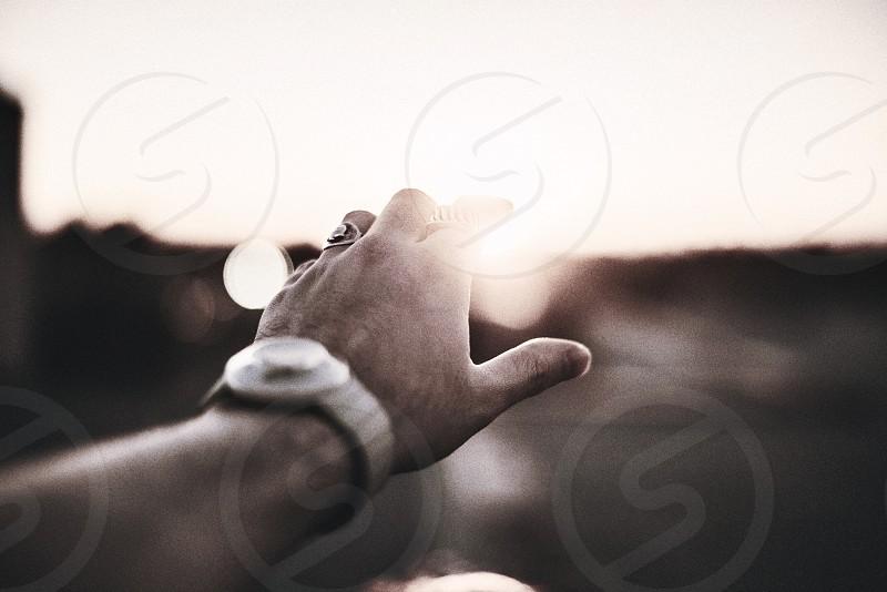 Reaching photo
