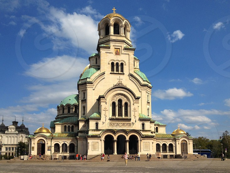 Alexander Nevsky Cathedral Sofia Bulgaria 2014 photo
