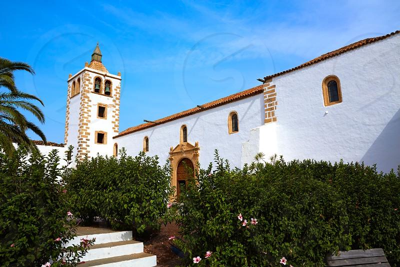 Betancuria Santa Maria church Fuerteventura at Canary Islands matriz cathedral photo