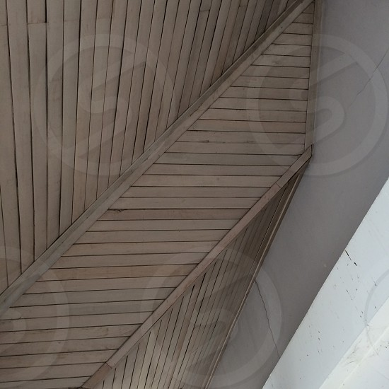 architecture ceiling wood bars  photo