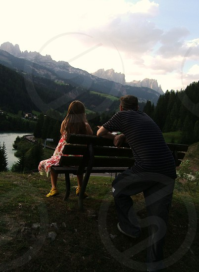 Up in the Dolomites photo