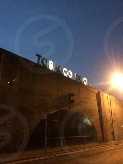 Tobacco Dock London.  photo