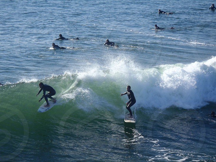 Surfers photo