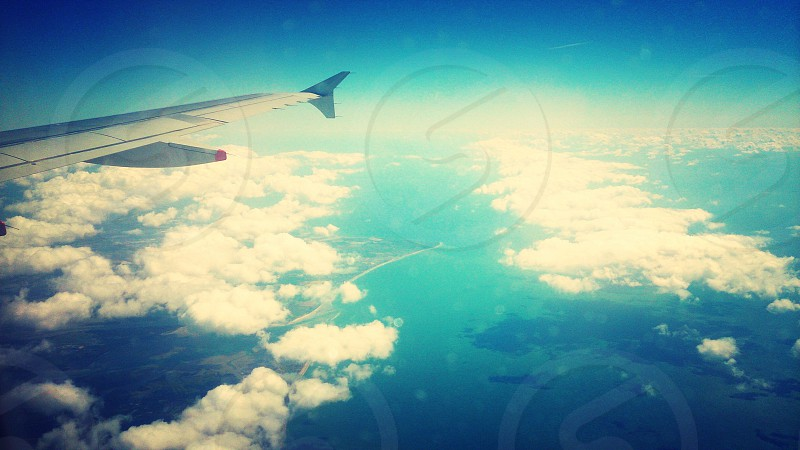 Travel in the sky photo