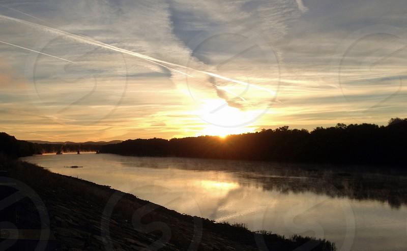 Sunrise over the Susquehanna 2 photo