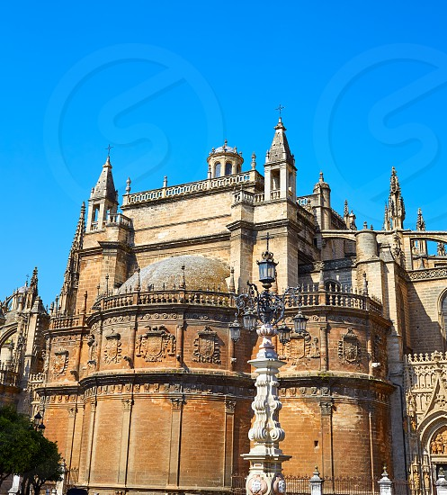 Seville the cathedral of Sevilla Andalusia Spain photo