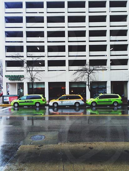 green car photo