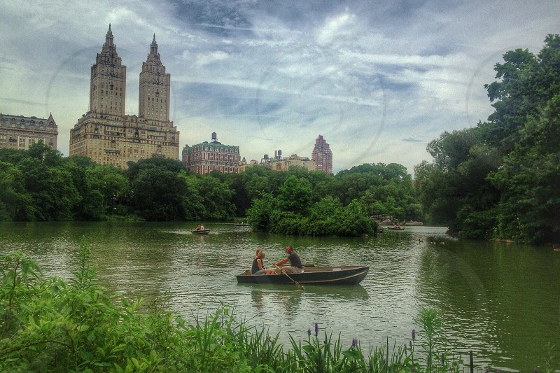 The Lake @ Central Park NYC. photo