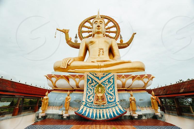 Big Buddha statue on Koh Samui island photo